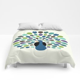 Peacock Time Comforters