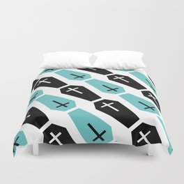 Coffin Duvet Cover
