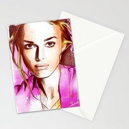 Keira Knightley - Poptrait Stationery Cards