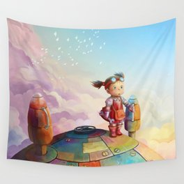 MEI and TOTORO Wall Tapestry