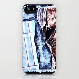 Rough Sea iPhone Case