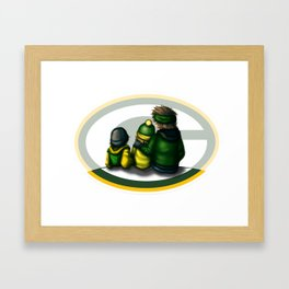 3 Brothers = Love you MOM Framed Art Print
