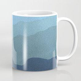 Landscape Blue Coffee Mug