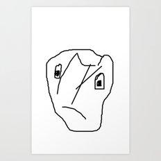 INDIFFERENT Art Print