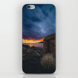 Southwest Lake Sunset iPhone Skin
