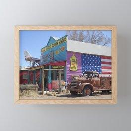 Route 66 - Sundries Framed Mini Art Print