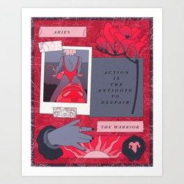 Aries II Art Print