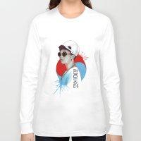 korea Long Sleeve T-shirts featuring South Korea by Tunyon