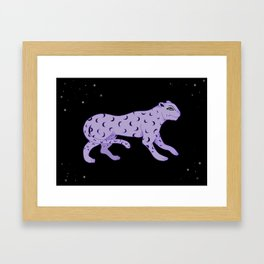 Night Prowl Framed Art Print