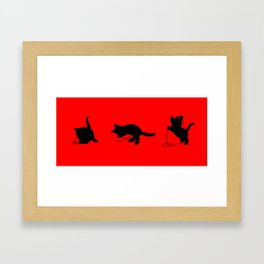 iPawed Framed Art Print