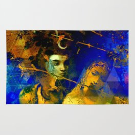 Shiva The Auspicious One - The Hindu God Rug