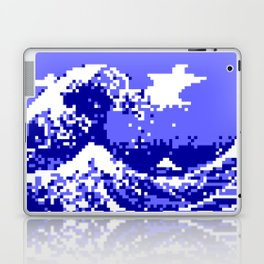 Pixel Tsunami Laptop & iPad Skin