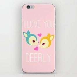 Deerly iPhone Skin
