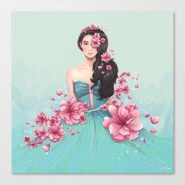 Arden Cho - Sakuras Canvas Print