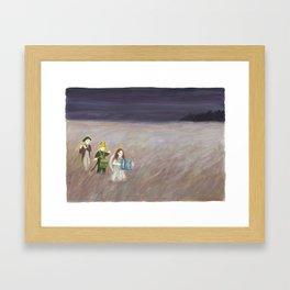 To the West Framed Art Print