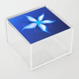La Fleur Magique de la Sorcière Fractal Acrylic Box