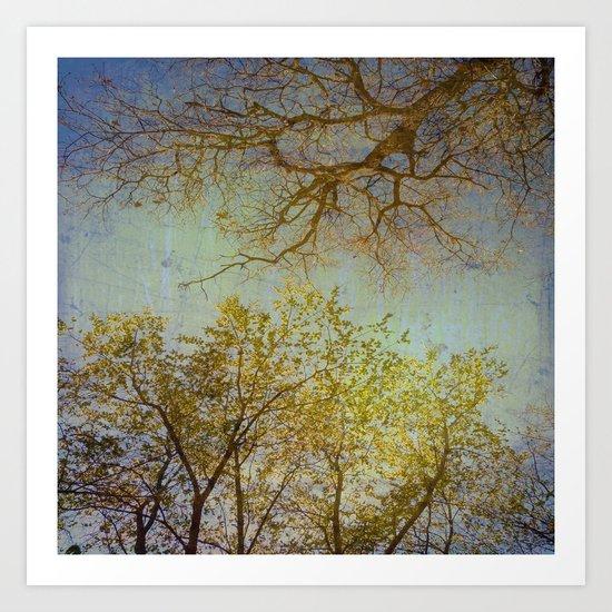 Above us Art Print