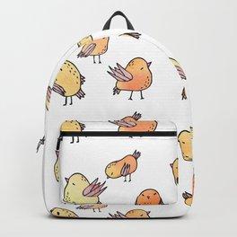 Flock Of Birds - Yellow Backpack