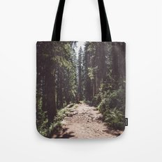 Entering the Wilderness Tote Bag