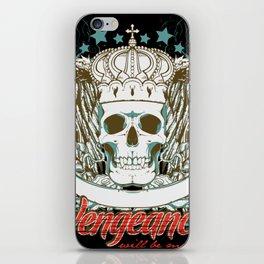 Vengeance Will be Mine iPhone Skin