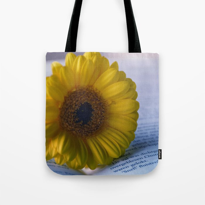 Yellow Gerbera Daisy Tote Bag