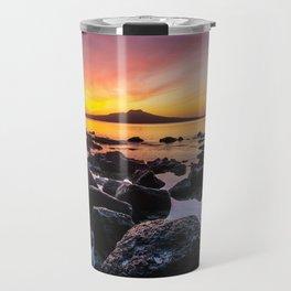 Rangitoto Island New Zealeand Travel Mug