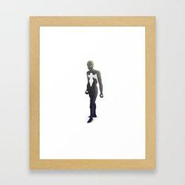 Symbiote Suit Spider-Man Framed Art Print