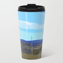 Beautiful Autumn Landscape Travel Mug