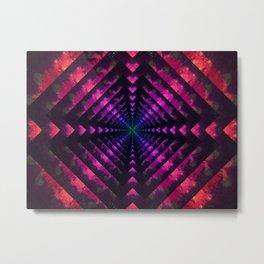 Spectrum Dimension Metal Print