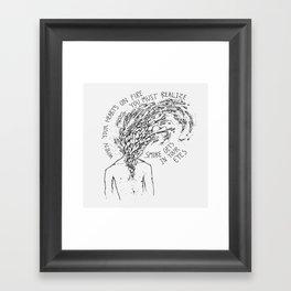 Platters Framed Art Print