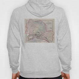 Vintage Map of Richmond Virginia (1884) Hoody