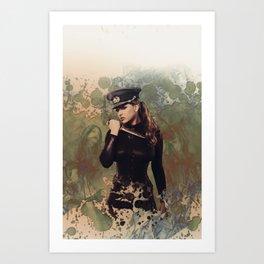 Late War Distractors Art Print