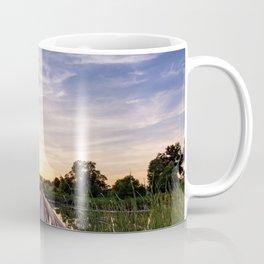 Sun Rays Over the Horizon Coffee Mug