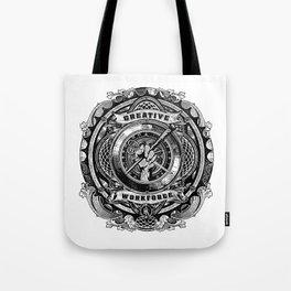 creative work force Tote Bag