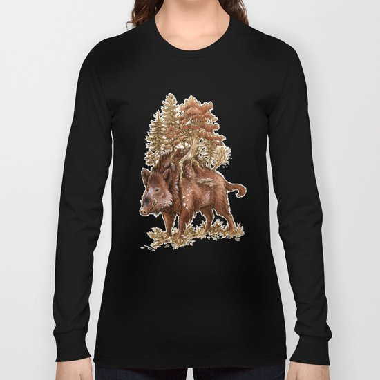 Boar of the Woods Long Sleeve T-shirt