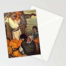 Saturnino Herran - The Offering, 1913 Stationery Cards