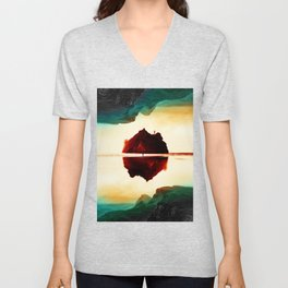 Isolation Island Unisex V-Neck