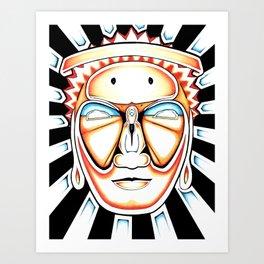 I Am Awake Art Print