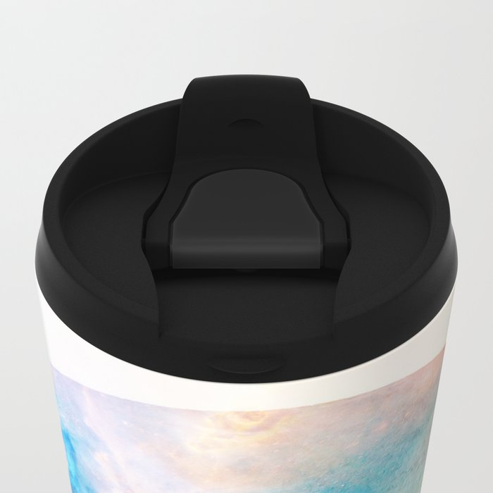 Moon Love Metal Travel Mug