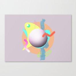 Waveforms Canvas Print