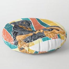 Rottweiler Floor Pillow