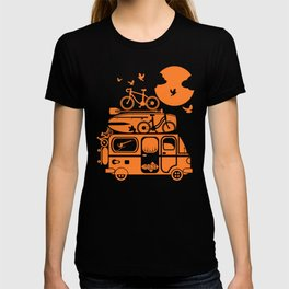 Funny family vacation camper T-shirt