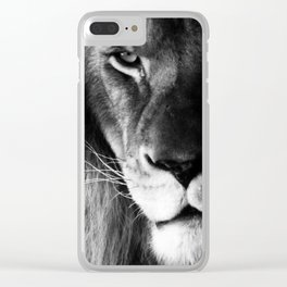 Eyes of a King Clear iPhone Case
