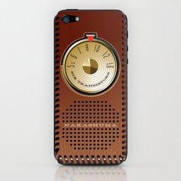 NAKASHUMA Mark Three with Leatherette Case iPhone Skin