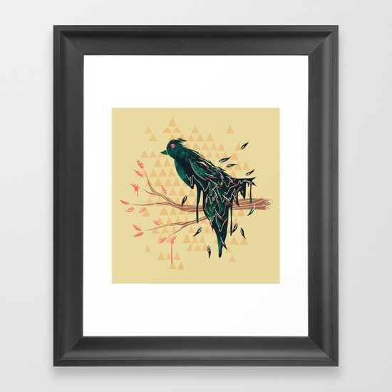 Fading Beauty Framed Art Print