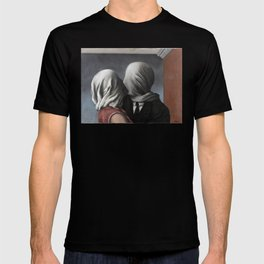 The Lovers II (Les Amants) 1928, Artwork Rene Magritte For Prints, Posters, Shirts, Bags Men Women K T-shirt