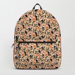 Toucans in the Hibiscus Backpack