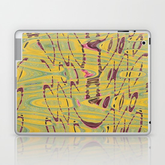 Floral Field Laptop & iPad Skin