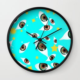 they are watching you Wall Clock