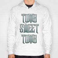 haunted mansion Hoodies featuring Haunted Mansion - Tomb Sweet Tomb by Brianna